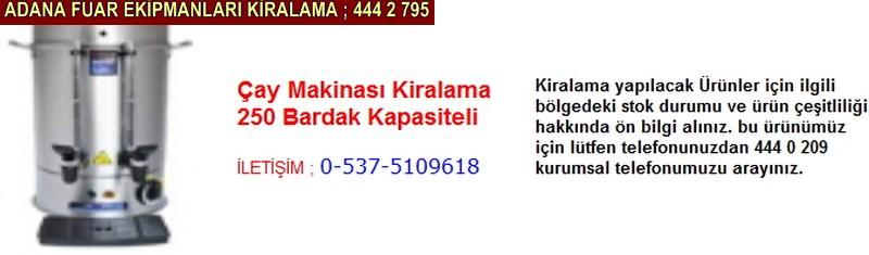 Adana çay makinası kiralama firması iletişim ; 0 505 394 29 32