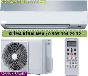 Adana Kiralık duvar tipi klima fiyatları