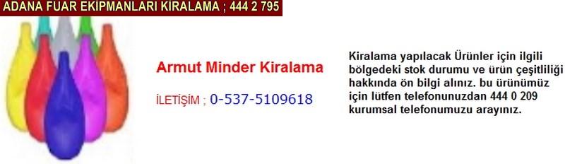 Adana armut minder kiralama firması iletişim ; 0 505 394 29 32