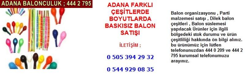 Adana balon satışı firması iletişim ; 0 544 929 08 35