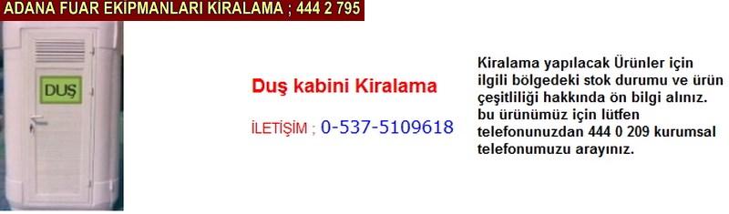 Adana duş kabini kiralama firması iletişim ; 0 505 394 29 32