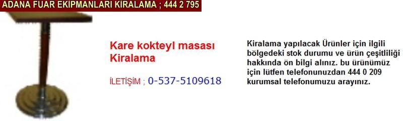 Adana kare kokteyl masası kiralama firması iletişim ; 0 505 394 29 32