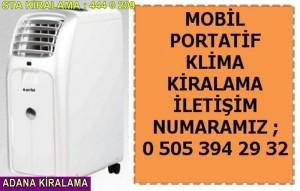 Adana kiralık mobil klima