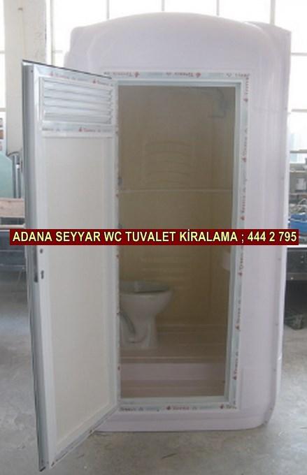 Adana kiralık seyyar wc tuvalet kabini firması iletişim ; 0 505 394 29 32