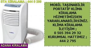 Adana mobil klima kiralama