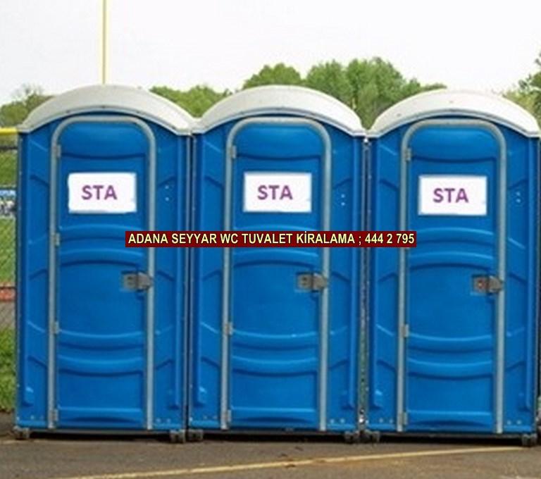 Adana mobil portatif wc tuvalet kabini kiralama satış firması iletişim ; 0 505 394 29 32