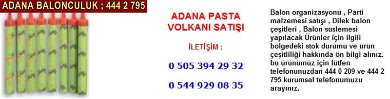 Adana pasta volkanı satışı firması iletişim ; 0 544 929 08 35