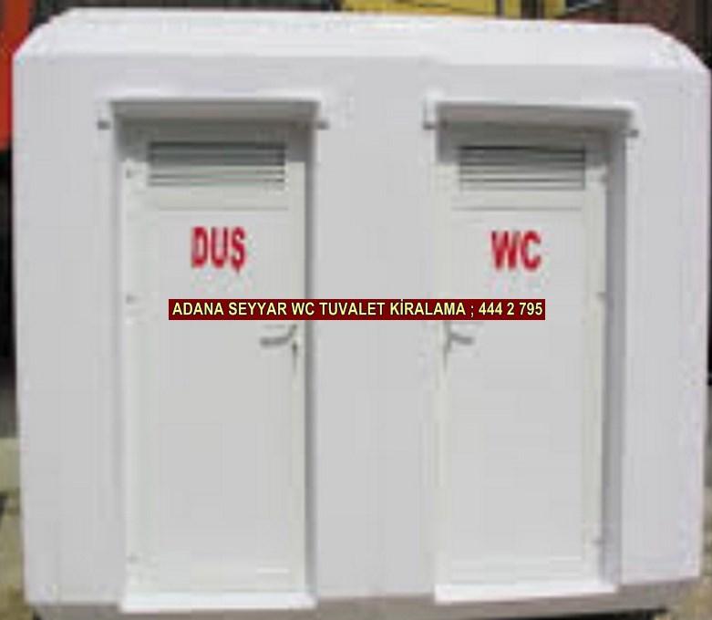 Adana seyyar duş wc kabini kiralama firması iletişim ; 0 505 394 29 32