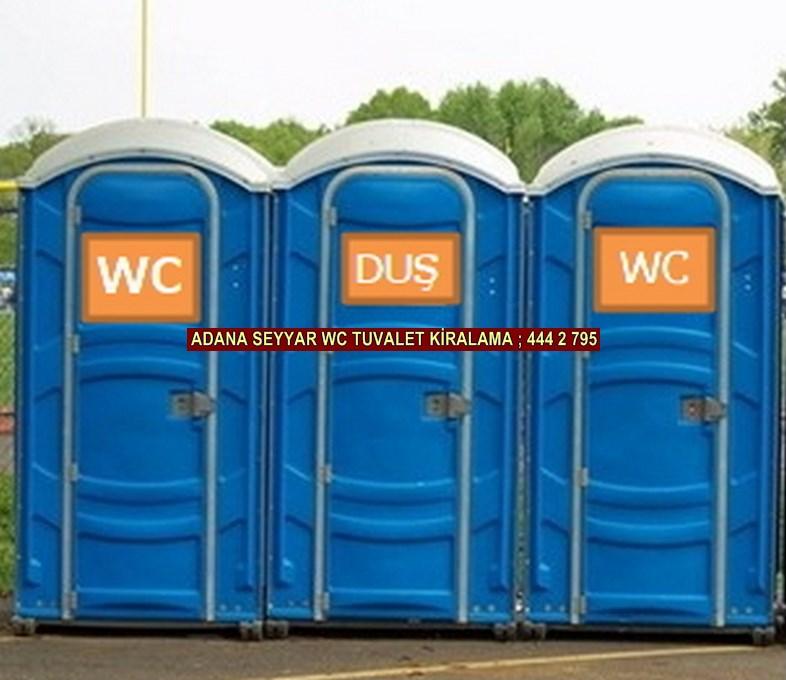 Adana seyyar wc tuvalet kabini kiralama firması iletişim ; 0 505 394 29 32