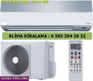 Adana sta Kiralık duvar tipi klima fiyatları