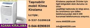 Adana tasinabilir-mobil-klima-kiralama