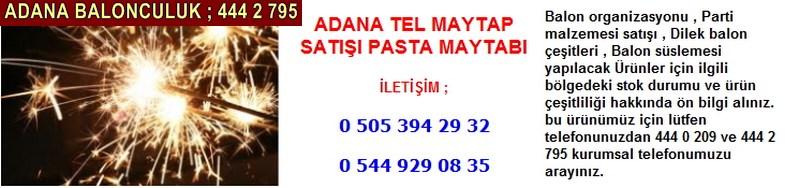 Adana tel maytap satışı pasta maytabı firması iletişim ; 0 544 929 08 35